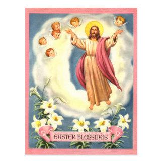 Ostern-Segen Postkarte