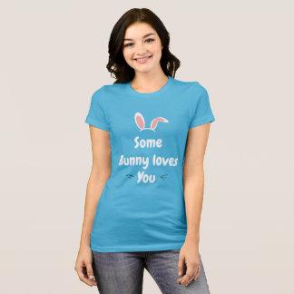 Ostern-Shirt etwas Häschen-Lieben Sie T-Shirt