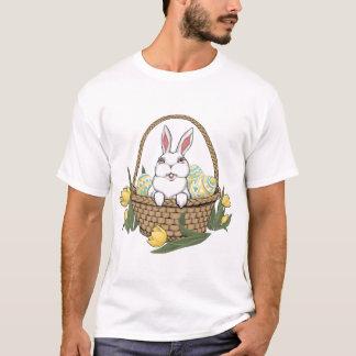 Ostern-Shirt-Osterhasen-Korb-Damen-T - Shirt