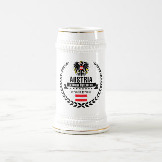 Österreich Bierglas