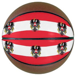 Österreich-Flagge Basketball