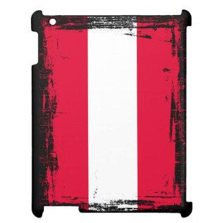 Österreich-Flagge iPad Hülle