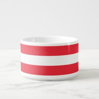 Österreich-Flagge Kleine Suppentasse
