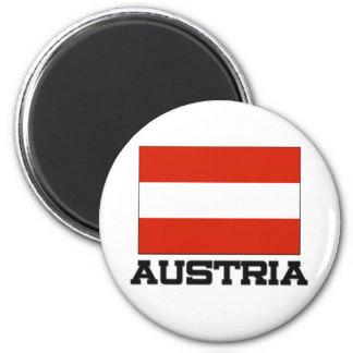 Österreich-Flagge Kühlschrankmagnet