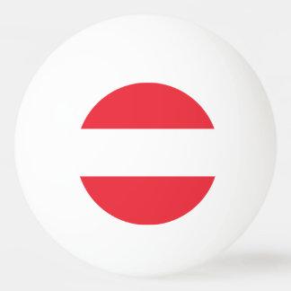 Österreich-Flagge Tischtennis Ball