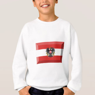 Österreich-Flaggen-Juwel Sweatshirt