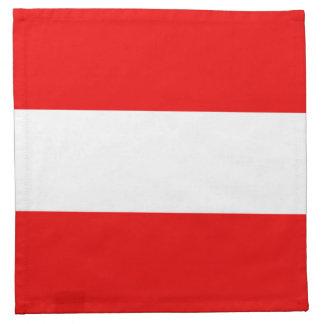 Österreich-Flaggen-Serviette Serviette