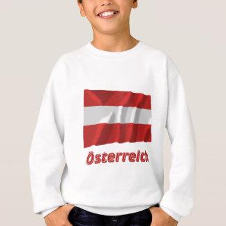 Österreich Fliegende bürgerliche Flagge, Deutsch Sweatshirt