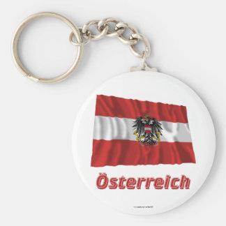 Österreich Fliegende Dienstflagge, deutscher Name Schlüsselanhänger