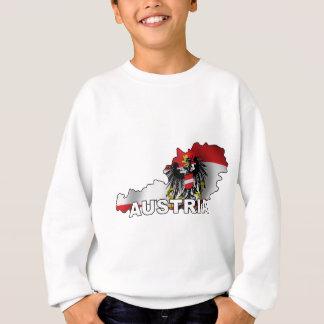 Österreich-Karte Sweatshirt