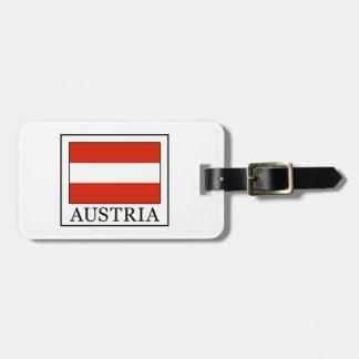 Österreich Gepäck Anhänger