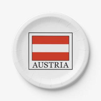Österreich Pappteller