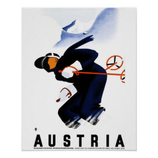 Österreich-Plakat Poster