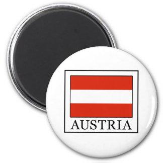 Österreich Runder Magnet 5,1 Cm