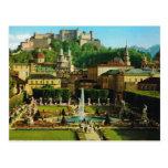 Österreich, Salzburg, Schloss und Gärten Postkarten