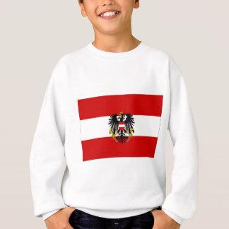 Österreich-Staats-Flagge Sweatshirt