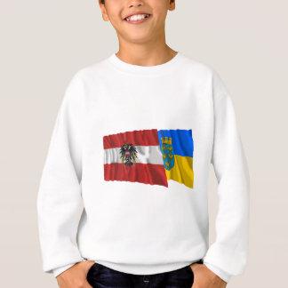 Österreich u. Niederoesterreich wellenartig Sweatshirt