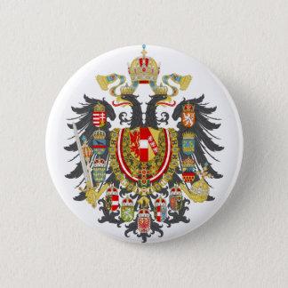 Österreich-Ungarn Wappen Runder Button 5,1 Cm