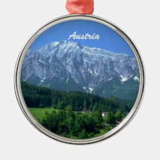 Österreich-Verzierung Silbernes Ornament