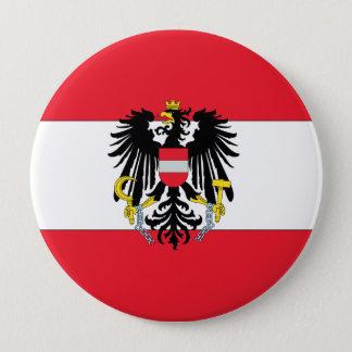 Österreich-Wappen Runder Button 10,2 Cm