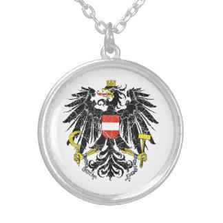 Österreich-Wappen Versilberte Kette