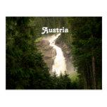 Österreich-Wasserfall Postkarten