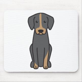 Österreicher Brandlbracke HundeCartoon Mousepad