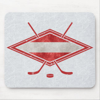 Österreichische Eis-Hockey-Flagge Österreich Mousepad
