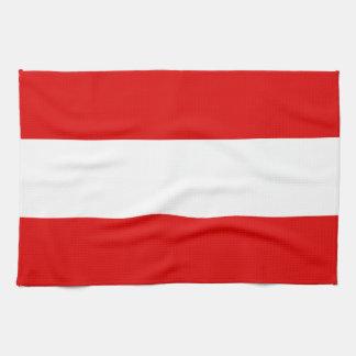 Österreichische Flagge Küchentuch