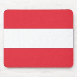 Österreichische Flagge Mauspads
