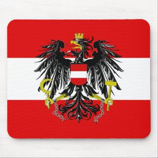 Österreichische Flagge Mousepad