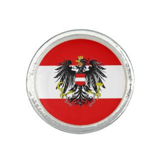 Österreichische Flagge Ring