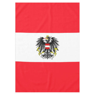 Österreichische Flagge Tischdecke