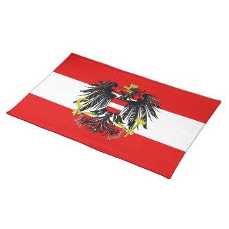 Österreichische Flagge Tischset