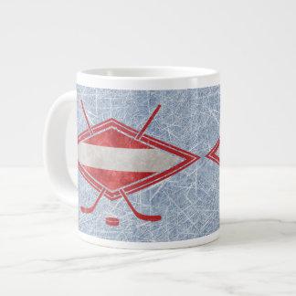 Österreichische Hockey-Flagge Österreich Tunnel-bo Extragroße Tasse