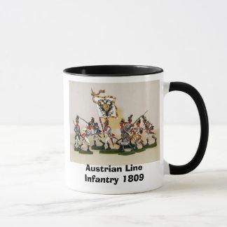 Österreichische Linie Infanterie 1809 Tasse