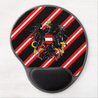 Österreichische Streifenflagge Gel Mousepad