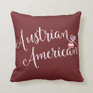 Österreichischer Amerikaner entwirrtes Kissen