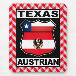 Österreichischer Amerikaner Mousemat Texas Mousepad