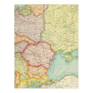 Osteuropa-Kommunikationen Postkarte