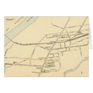 Osthartford Karte