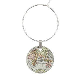 Osthemisphäre-Karten-Kugel-Reise-Kunst Glasmarker