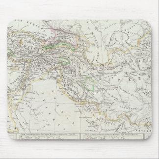 Osthemisphäre-Weltkarte Mousepad