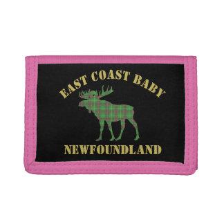 Ostküsten-Baby-Neufundland-Elche Tartangeldbörse