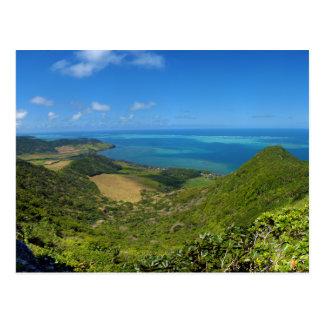 Ostküsten-Insel von Mauritius Afrika Postkarte