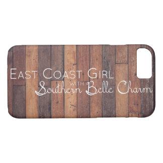 Ostküsten-Mädchen mit südlichem Schönheits-Charme iPhone 8/7 Hülle
