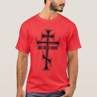 Östliches orthodoxes Kreuz T-Shirt