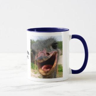 Ostrich, was herauf Tasse ist