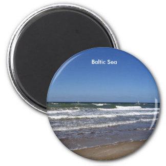 Ostsee-Magnet Runder Magnet 5,1 Cm