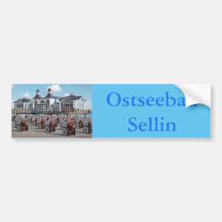 Ostseebad Sellin auf Rügen Autoaufkleber
